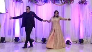 Wedding Dance Performance by Groom's Mom & Dad (Sagan Ceremony of Shweta & Abhay)
