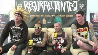 Resurrection Fest TV 2013 - Interview with The Casualties