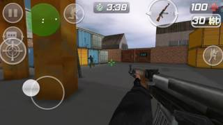 Stanley plays CS PORT shooting game on his Android phone and does commentary part 1