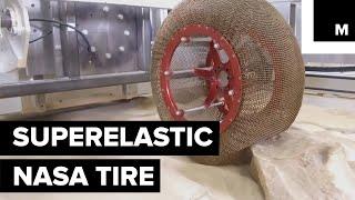 NASA Creates New Chainmail Tire