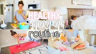 My Healthy Morning Routine 2017!