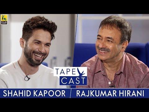 Shahid Kapoor & Rajkumar Hirani   Tape Cast   #FlyBeyond