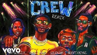 GoldLink - Crew REMIX (Audio) ft. Gucci Mane, Brent Faiyaz, Shy Glizzy