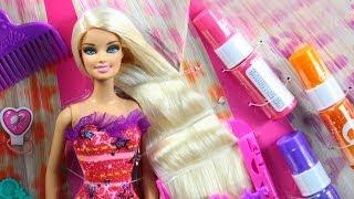 Barbie Hairtastic Color & Design Studio / Salon Fryzjerski Barbie - www.MegaDyskont.pl - sklep