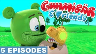 Gummy Bear Show Sixth 5 Episodes - Two Tickets, The Fly, Surprise Egg, Sleepwalker, Snoring