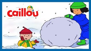 Funny Animated Cartoon | Caillou goes Ice skating | Cartoons for Kids | Cartoons for Children