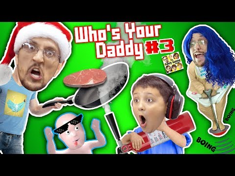Xxx Mp4 WHO S YOUR DADDY Part 3 FGTEEV Plays 4 Challenges Cooking Washing Breaking Knocking INSANE 3gp Sex