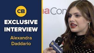 EXCLUSIVE INTERVIEW: Alexandra Daddario- CinemaCon Interview