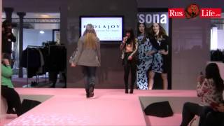 Paola Joy - Curvy is sexy 2014 - Modenschau Übergrößen in Berlin