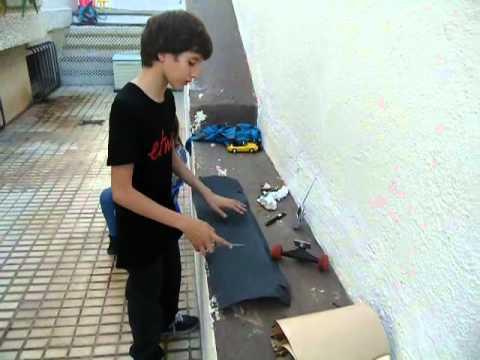 Aprende a quitarle la lija a tu skate con Jorge