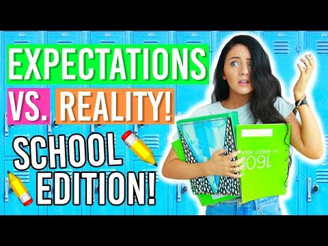 Xxx Mp4 Back To School 2016 Expectations Vs Reality First Day Of School Expectations 3gp Sex