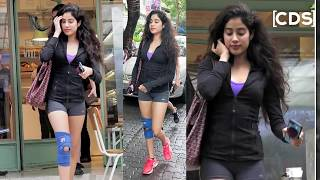 Jhanvi Kapoor Hot In Workout Outfits
