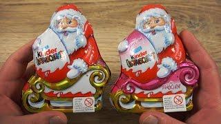 Christmas Kinder Surprise Santa Claus Egg