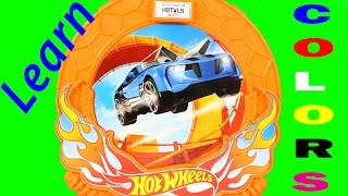 Learn Colors For Kids Children Toddlers With Hot Wheels Color Shifters Color Changers Toys