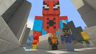Minecraft Xbox - Run From The Beast - Spider-Man: Homecoming