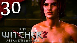 Let's Play The Witcher 2 [BLIND] - Part 30 - The Ruined Elven Baths with Triss