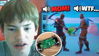 8yr Old Kid FIGHTS HIS MOM on the Mic OVER THIS 1V1! My Weirdest Day Ever...