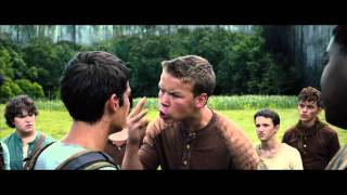 The Maze Runner -- Featurette with Dylan O