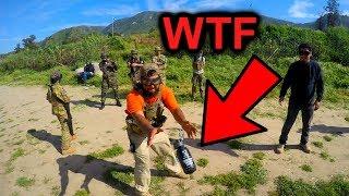 DANGEROUS: Grenade HOT POTATO!