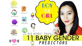 Boy or Girl? l 11 Baby Gender Predictors ~ Old Wives' Tales ~ Free Printable Download @Mollerful