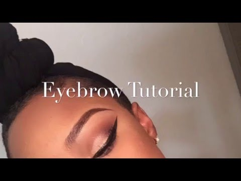 Beginner Eyebrow Tutorial