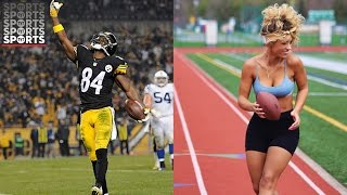 Antonio Brown's Baby Mama Is PISSED About Him Leaving for IG Model