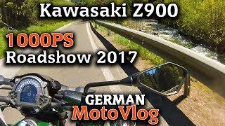 1000PS Roadshow 2017│Teil 13│Kawasaki Z900