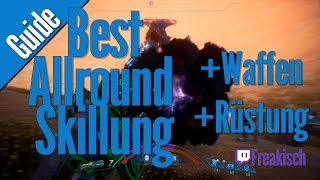 Mass Effect Andromeda Forschher Skillung - Beste Allround Build ! Alle Profile !