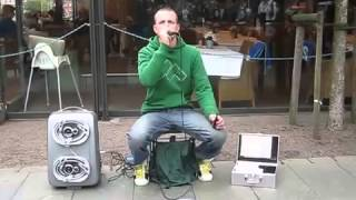 Dave Crowe Heymoonshaker - London Part 2 (Dave Crowe beatbox dubstep session)