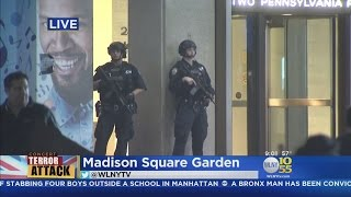 Heightened Security At Madison Square Garden
