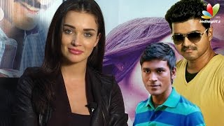 Amy Jackson Interview On Vijay's Theri and Dhanush's Thanga Magan | Vijay 59, VIP 2