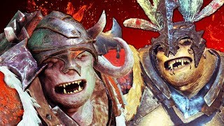 DRIVING BAZ & GAZ INSANE!   Middle Earth: Shadow of War Funny Moments