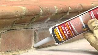Sealing and Repairing Damaged Mortar Joints