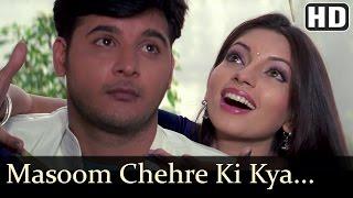 Masoom Chehre Ki Kya Baat - Ansh Songs - Abbas - Shama Sikandar - Alka Yagnik, Sonu Nigam