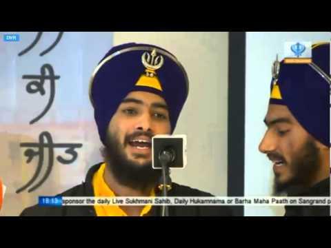 Bhai Mehal Singh Kavishri Jatha Putt Char Taram Ton