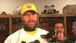 Steelers QB Ben Roethlisberger praises his offensive line