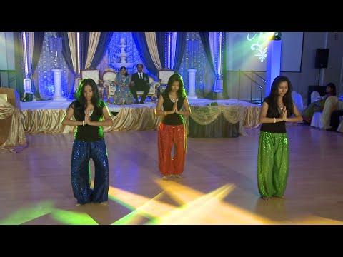 Indian Girls Wedding Dance Performance - An Indian Wedding at Garden Banquet Convention Center GTA