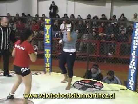 Torneo MMA Chile 15 años Martinez Vale todo Evelyn mancilla vs Majo concha 10 11