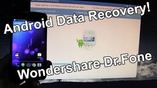 Android Data Recovery - Wondershare Dr.Fone - Recover Photos, Videos, Documents!