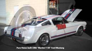 Pure Vision's 1966 Martini T-5R Mustang RUNNING