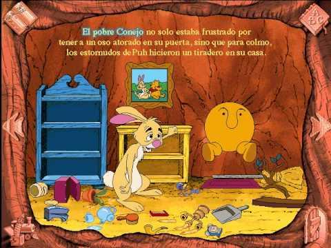 Libro Animado Interactivo Winnie Pooh Español Parte 3