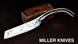 Knife making - making a knife from a horseshoe