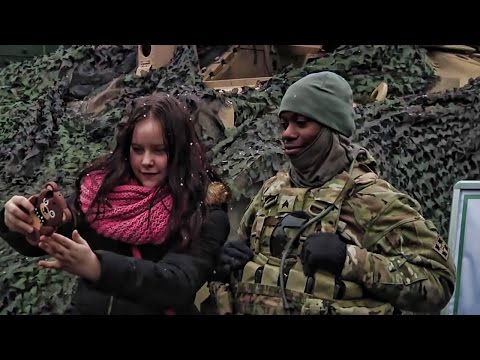 Polish Citizens Get To Meet U.S. Soldiers