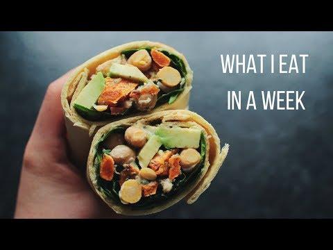 Xxx Mp4 What I Eat In A Week Vegan 5 3gp Sex