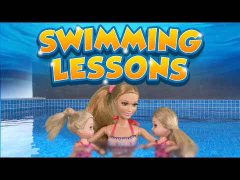 Barbie - The Twins Learn to Swim