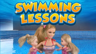 Barbie - The Twins Learn to Swim | Ep.93