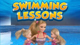 Barbie - The Twins Learn to Swim