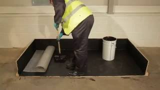 Cold Applied Bitumen - Liquid Roofing System