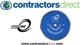 Diamax Cyclone Glass Blade From Contractors Direct