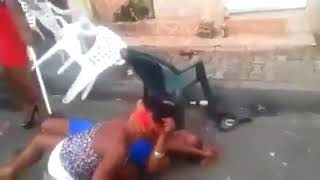 Two Pretty Ladies Disgrace Themselves In Public